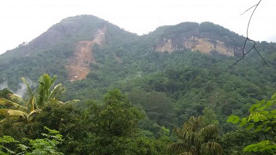Aranayaka ambalakandha - Another landslide r
