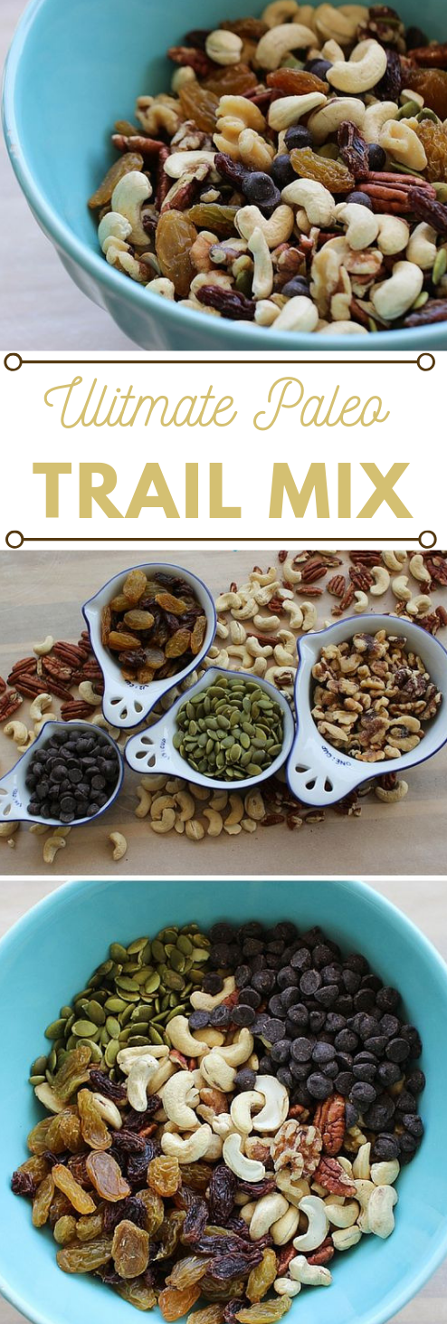 Ultimate Paleo Trail Mix #paleo #diet #ultimate #lowcarb #whole30