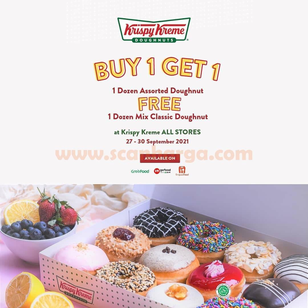 Promo Krispy Kreme Terbaru 27 - 30 September 2021