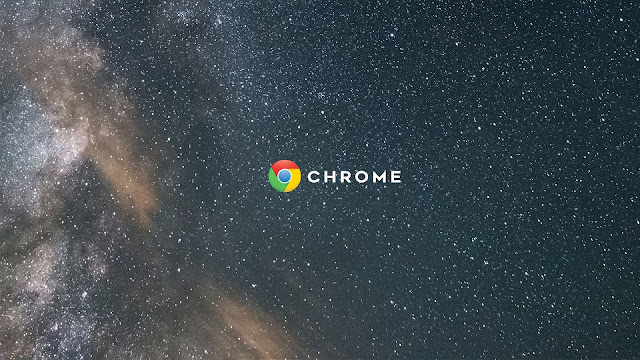 chromebook wallpaper space