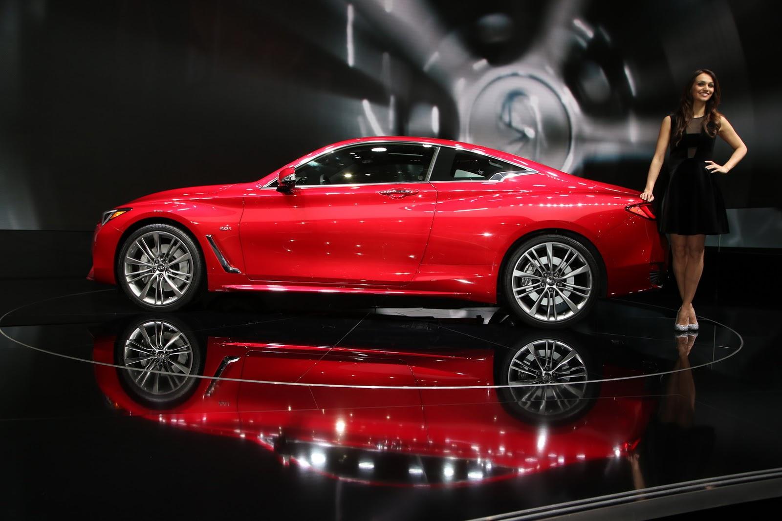 Infiniti ra mắt một lúc 3 dòng xe QX30, Q50 và Q60 tại Geneva