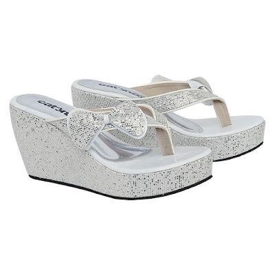 Sandal Wedges Wanita Catenzo JK 521