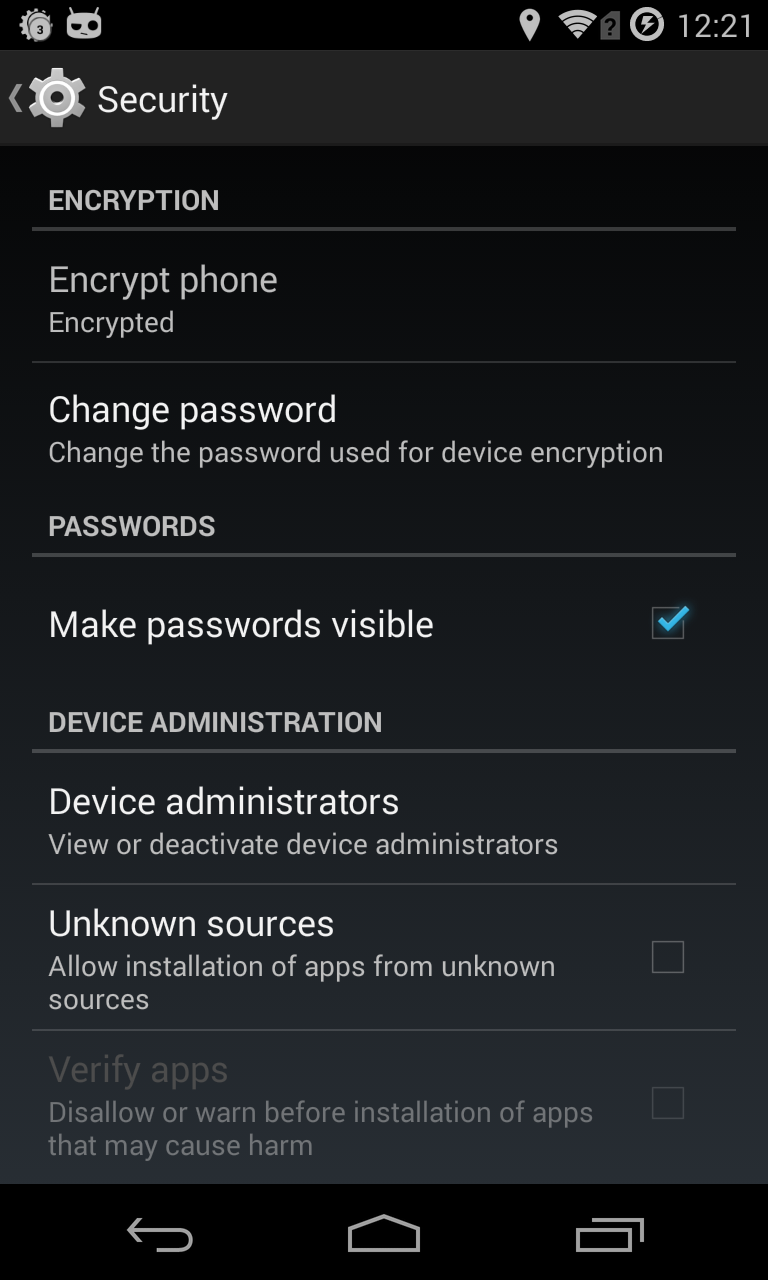 Revisiting Android disk encryption