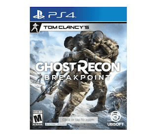 $6.50, Tom Clancy's Ghost Recon Breakpoint (PS4)