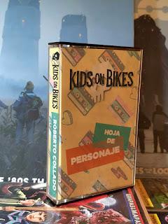 Hojas para KIDS ON BIKES