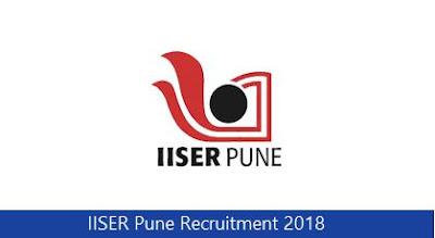 IISER Pune Recruitment 2018
