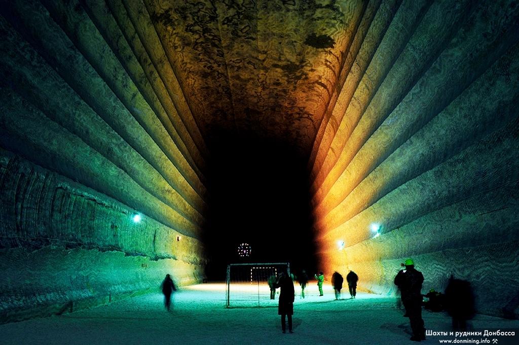 Соляная шахта Соледара