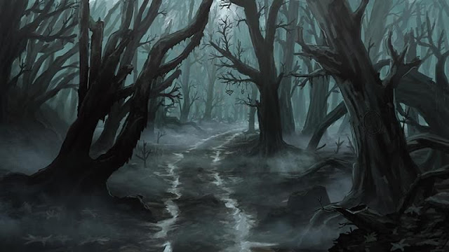 Dominio del Terror para Ravenloft - Mágico Mundo de Ooze - Bosque