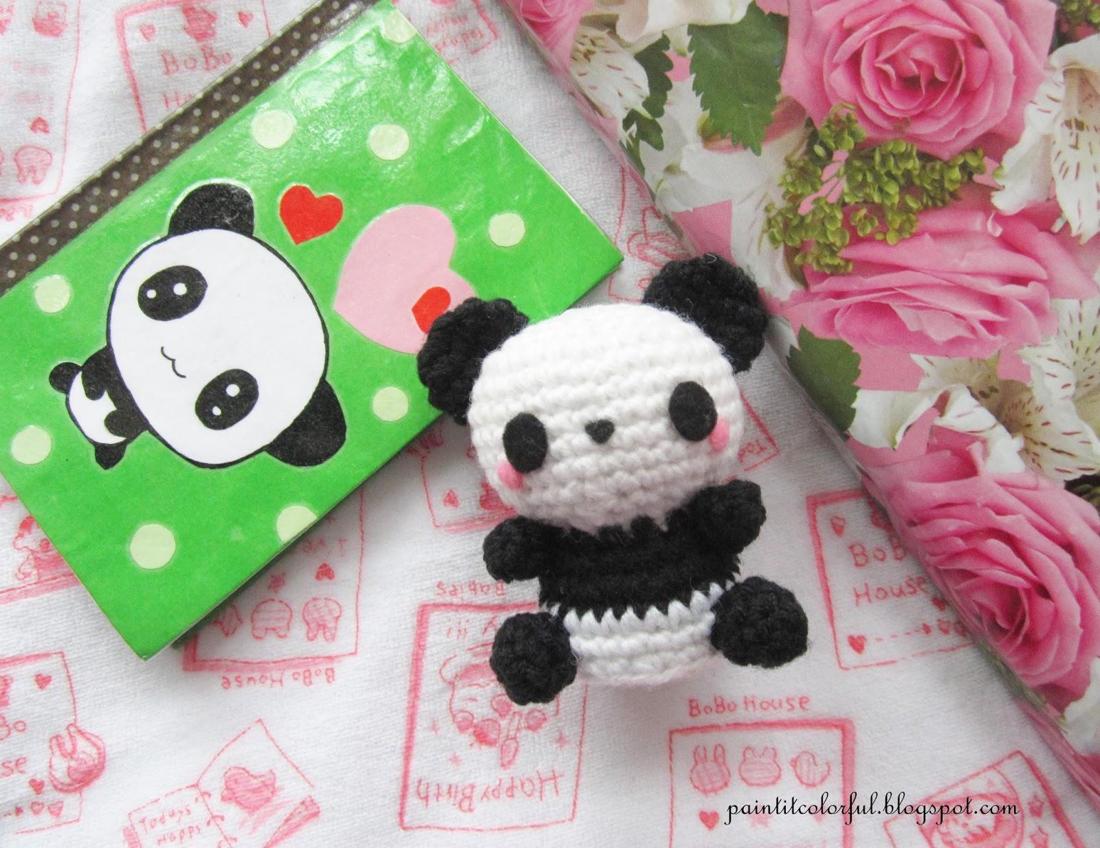 Amigurumi Panda Free Pattern A Little Love Everyday