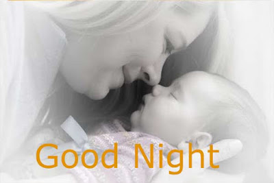 good night images with cute babies