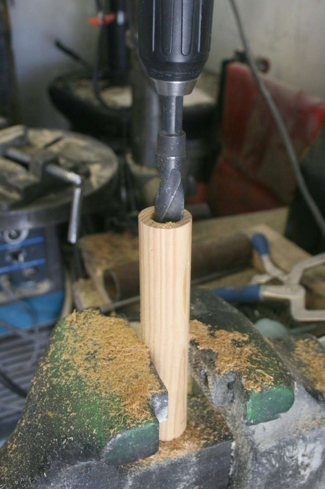 Wood Salt And Pepper Shakers Pneumatic Addict