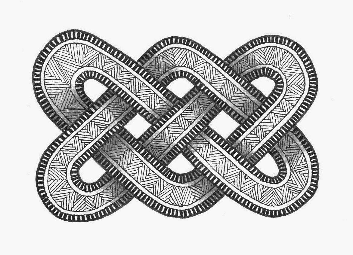 mandala atelier inspiratie workshop 3 keltische knoop