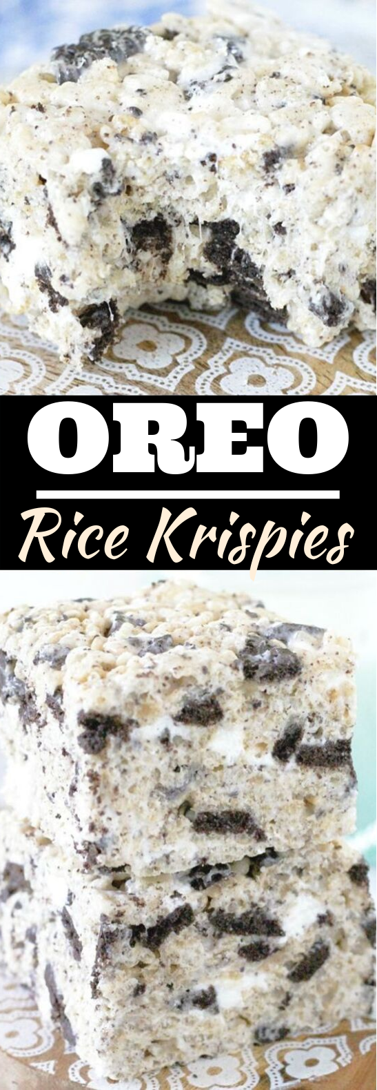 Oreo Krispies #desserts #oreo