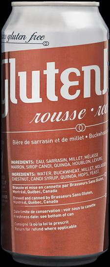 Glutenberg rousse – Glutenberg