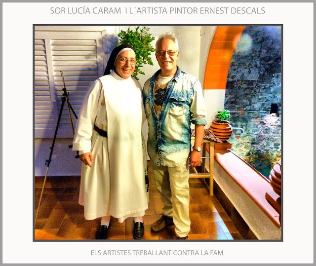 MANRESA-PINTURA-SOR LUCIA CARAM-ARTISTA-PINTOR-ERNEST DESCALS-ARTISTES-PINTORS-SUBHASTA-FUNDACIÓ ROSA ORIOL-QUADRES-FAM-