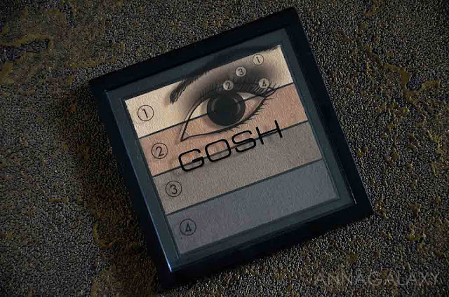 палетка теней Gosh Smokey Eyes Palette 02 brown