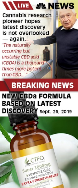 CBD enriched with CBDa