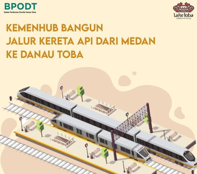 Kemenhub Membangun Jalur Kereta Api dari Medan ke Danau Toba | Wisata Danau Toba Siap Go Internasional