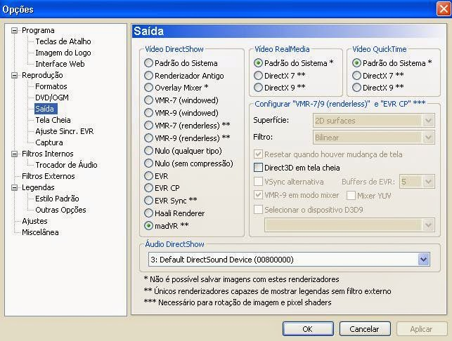 NerdDownloads ® Blog: Problema de cores no Media Player