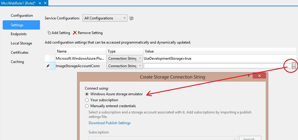 Working with Azure BLOB Storage in MVC