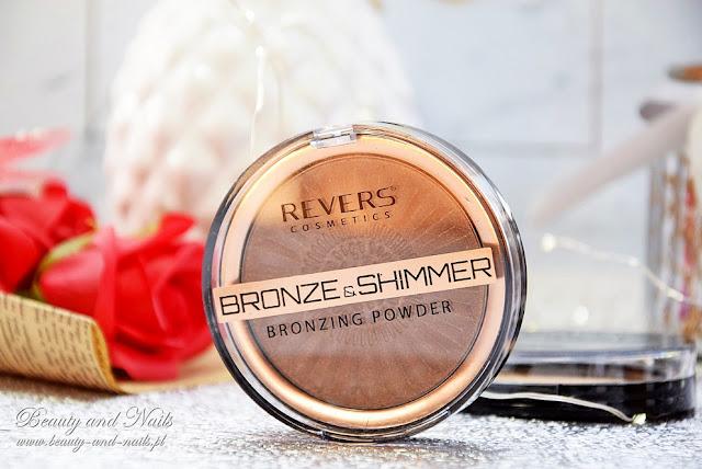 REVERS COSMETICS - puder bronzująco-rozświetlający i puder matujący.