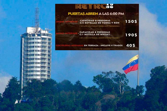 En el Hotel Humboldt de Maduro no aceptan el PETRO