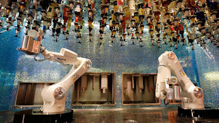 Tipsy bar di Las Vegas robot barman
