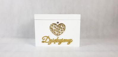 skrzynka na koperty wypożyczalnia dekoracji rzeszów ślubnażyczenie