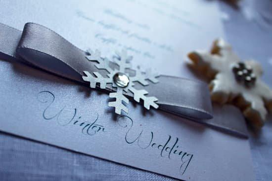 Les 5 bonnes raisons pour se marier en hiver
