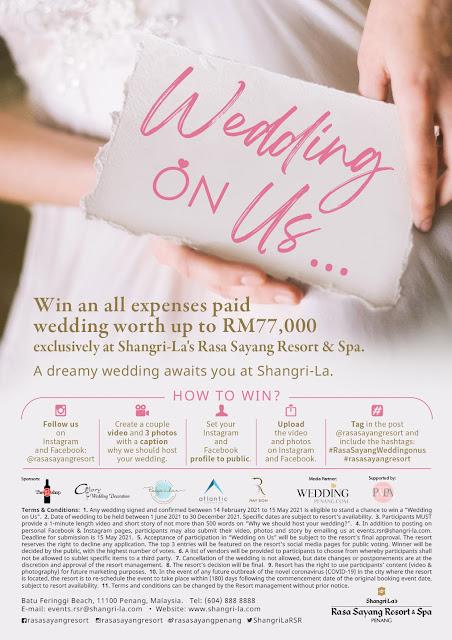 "Shangri-La's Rasa Sayang Resort & Spa Launches ""Wedding on Us"" Contest"