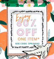 60% off on One Item