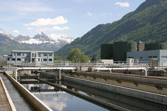 impianto di depurazione-acqua