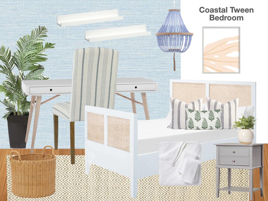coastal tween bedroom, modern tween bedroom ideas, tween bedroom decor