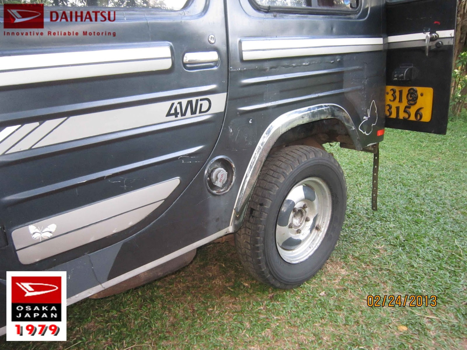 Sampath Premaratne Creations: Jeep with Genuine Condition
