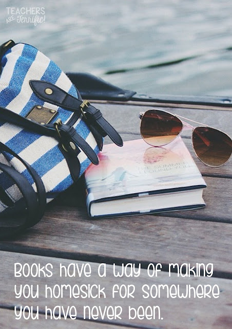 Books have a way of making you homesick for somewhere you have never been. Book reviews on this blog post!