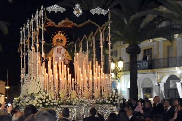 Horario e Itinerario Salida Extraordinaria Virgen de los Dolores. Lepe 18 de Septiembre del 2021