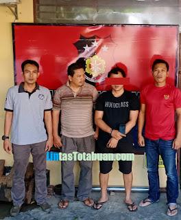Warga Desa Bangun Rejo di Amankan Unit Reskrim Polsek NA IX-X