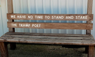Poetry Bench WH Davies