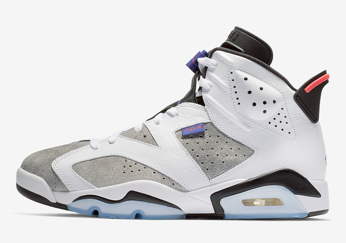 60bd8907c111 Borrowing the famed colour blocking from 2006 s release of a  similarly-coloured Air Jordan 7