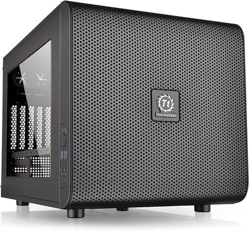 Thermaltake Core V21 SPCC Micro ATX Cube Computer Case