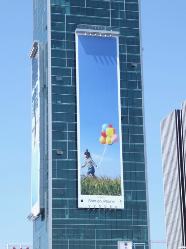 Shot on iPhone Balloons Ryoji I billboard