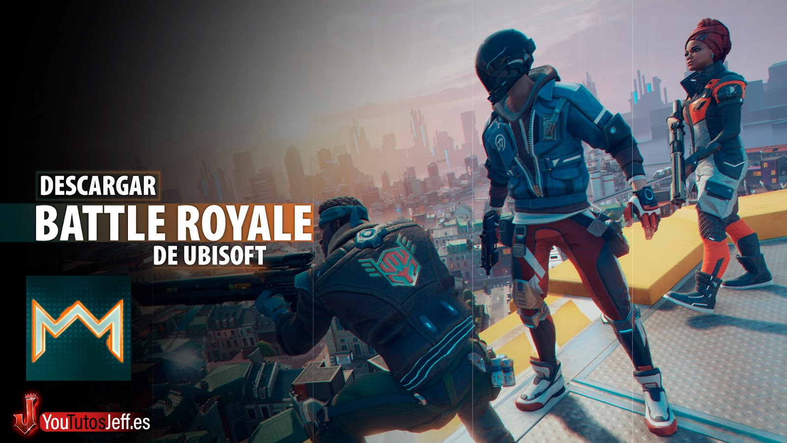 Battle Royale de Ubisoft, Descargar Hyper Scape para PC Gratis