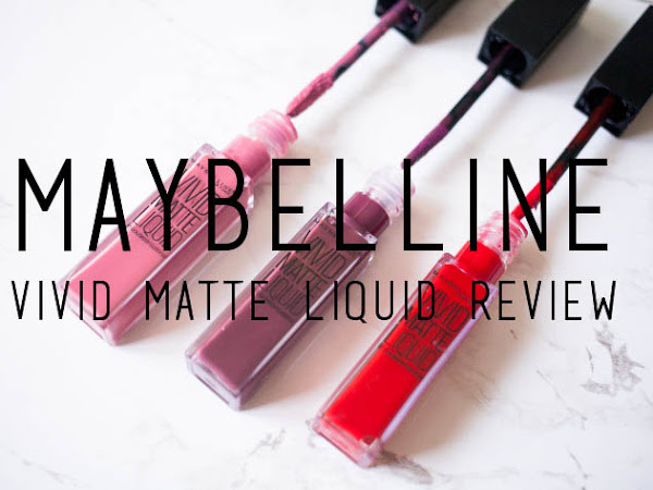 Beauty: Maybelline Vivid Matte Liquid review