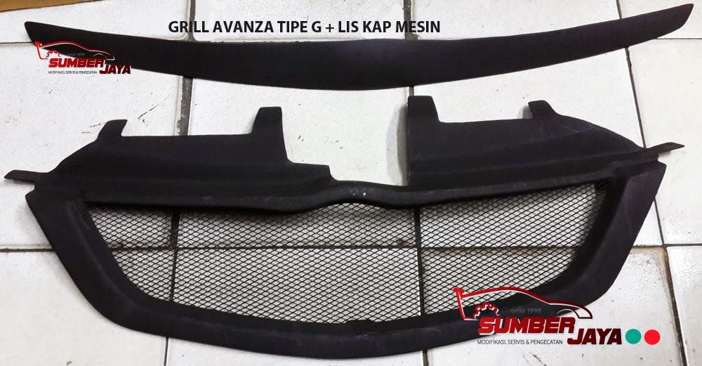 grill jaring grand new avanza toyota veloz 2018 sumber jaya jual untuk berbagai mobil tipe g garis lis kap mesin