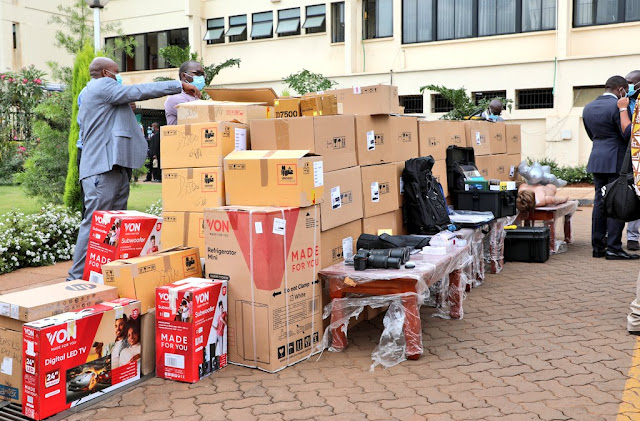CS Joe Mucheru graced the handover event of an assortment of forensic investigations equipment donated to the DCI photos