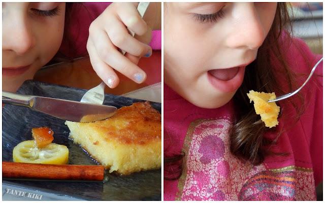 Πορτοκαλόπιτα με καταϊφι