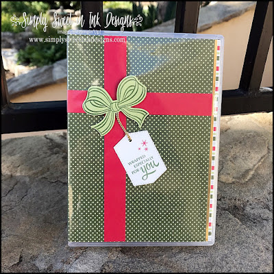 Easy gift packaging with the Stampin' Up! Gift Wrapped bundle!