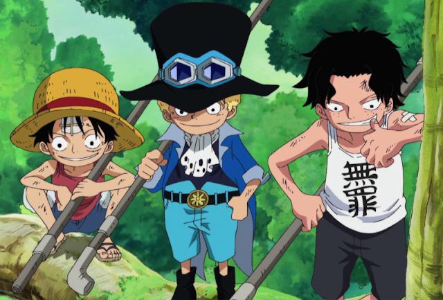2 Saudara Luffy di One Piece