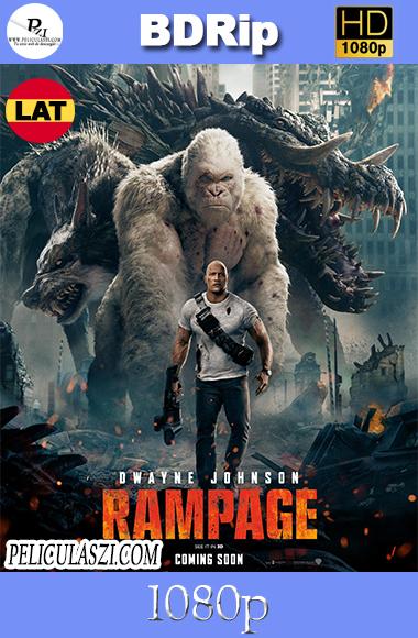 Rampage: Devastación (2018) HD BDRip 1080p Dual-Latino