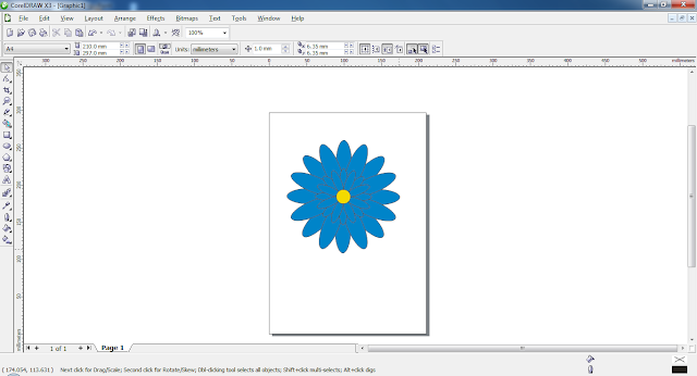 Cara Membuat Bunga Dengan CorelDRAW